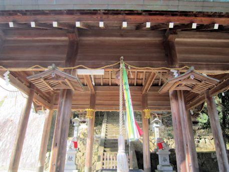 椋下神社拝殿