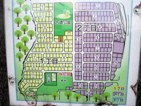奥ノ芝2号墳周辺地図