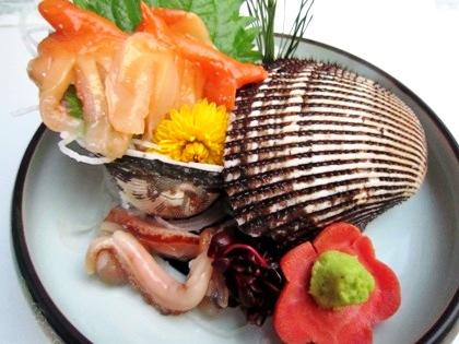 赤貝のお造り