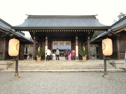 吉野神宮神門
