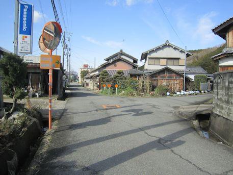 車木ケンノウ古墳のアクセスルート