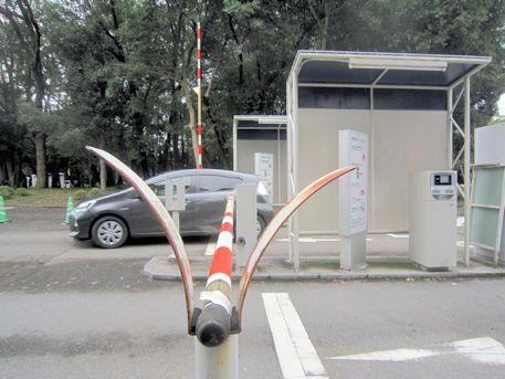 橿原神宮駐車場