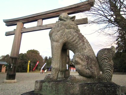 吉野神宮の狛犬