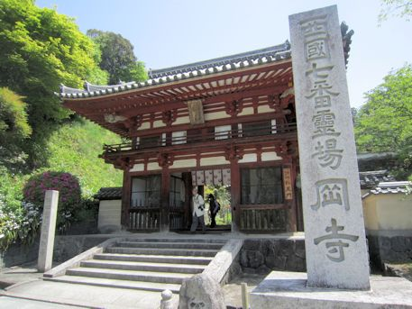 岡寺の仁王門