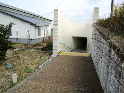 明日香村の地下道