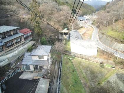 吉野山ロープウェイからの眺め