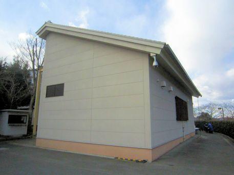 高松塚古墳壁画の修理施設