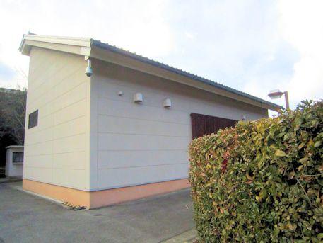 高松塚古墳壁画修理施設