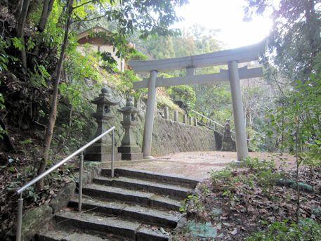 車木八幡神社の鳥居