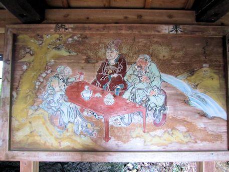 八幡神社絵馬殿の絵馬