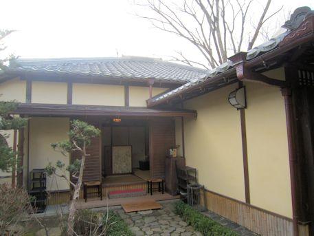 入江泰吉旧居の玄関