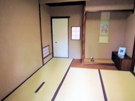 入江泰吉旧居の茶室