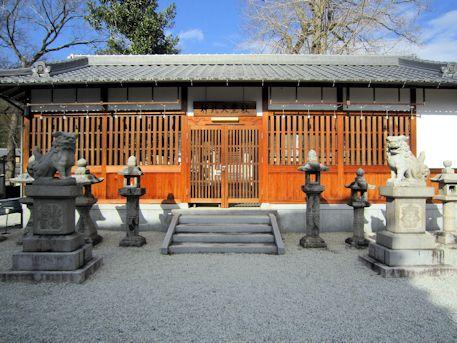 神武天皇社拝殿