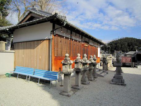 神武天皇社のベンチ