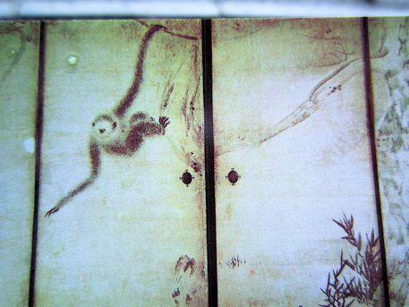 猿猴捉月図