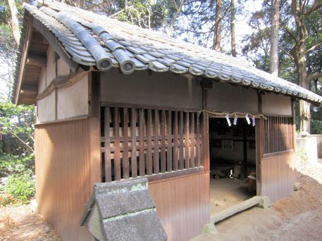 白山姫神社の絵馬堂