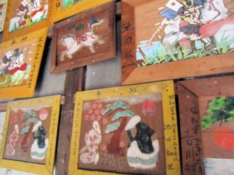 白山姫神社の奉納絵馬