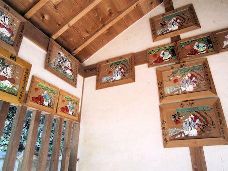 天満神社の絵馬堂