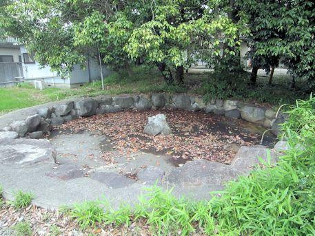 天照御魂神社の池
