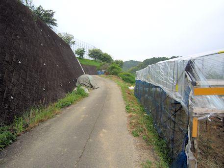 束明神古墳のアクセスルート