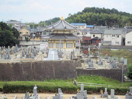 三吉石塚古墳の眺望