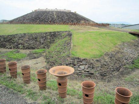三吉石塚古墳の前方部