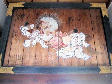 鷺栖神社の絵馬