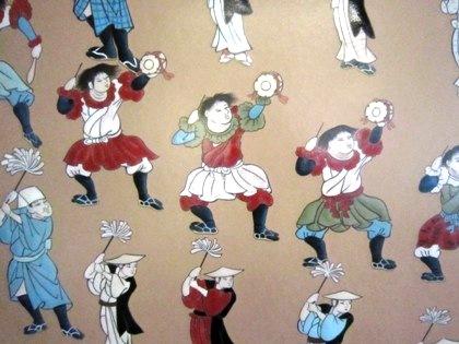糸井神社の太鼓踊り絵馬