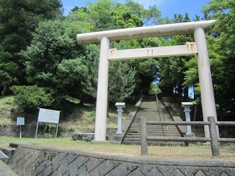 篠畑神社の一の鳥居