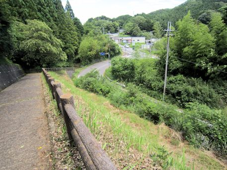 篠畑神社からの眺め