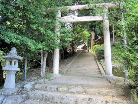 篠畑神社二の鳥居