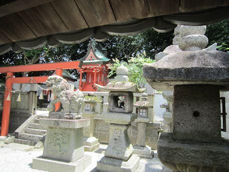 和爾坐赤坂比古神社の本殿