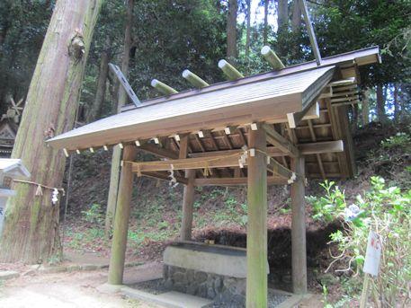 篠畑神社の手水処