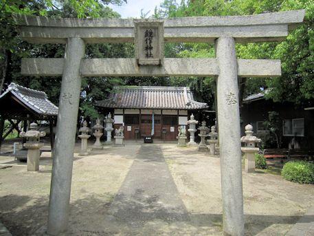 石見鏡作神社