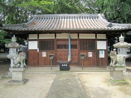 石見鏡作神社拝殿
