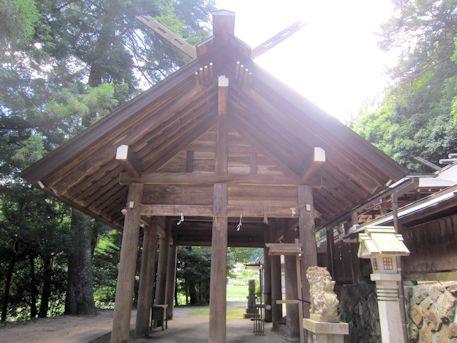 篠畑神社拝殿