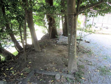 篠畑神社の結界