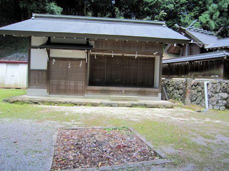 篠畑神社の神饌所