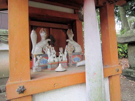 高良神社の稲荷社
