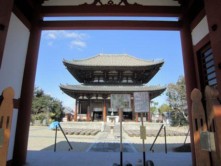 喜光寺本堂