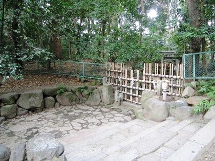 蚕ノ社神域