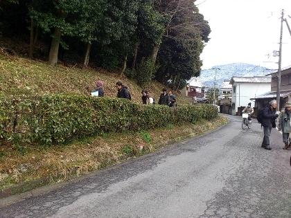箸墓古墳と三輪山遠景