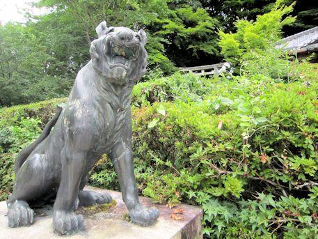 大願寺の狛トラ