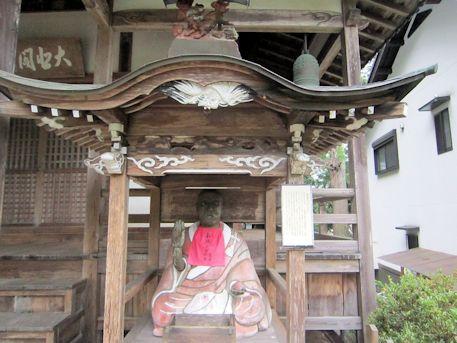 大願寺の賓頭盧尊者