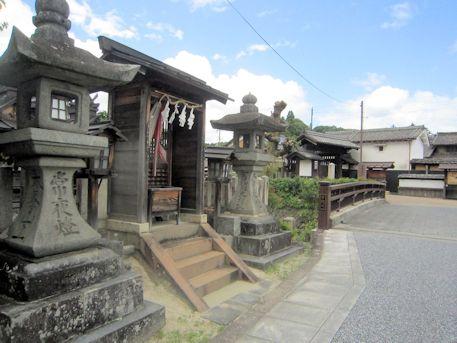 琴平神社と愛宕神社