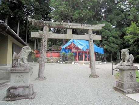 桜実神社鳥居