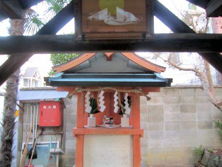 中筋神社本殿
