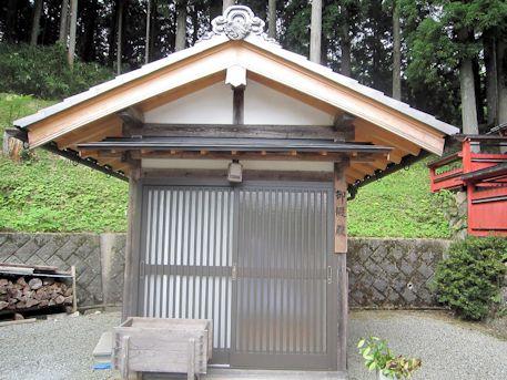 桜実神社御假殿