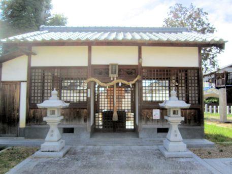 金橋神社拝殿