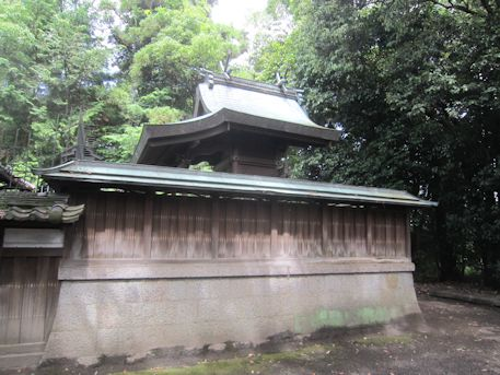 石上市神社本殿